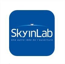 application mobile sky in lab