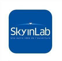 application mobile sky in lab